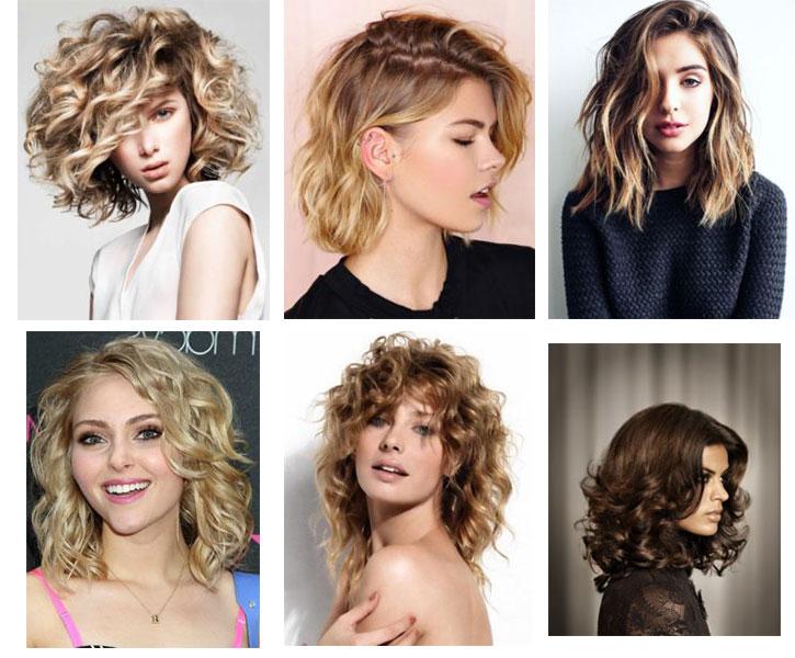 Стрижки 2018 новинки на волнистые волосы