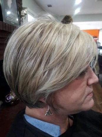 Седые волосы недостаток