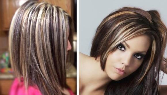 виды мелирования волос фото на темные волосы