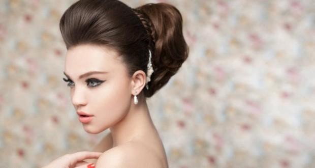 Варианты прически бабетта на средние и длинные волосы